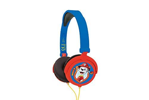 Paw patrol cuffie stereo, colore blu/rosso, hp015pa