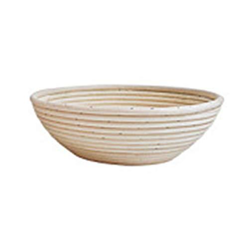Lorjoyx Paniers de Pain de Style européen fermentées Alimentaire rotin Basket Fruit Basket Coffret de Rangement Accueil Bureau Fruits Organizer légumes 1 11 * 6cm