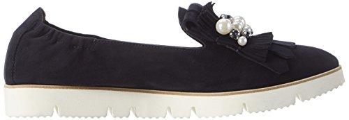 Manufacture De Chaussures Kennel Et Schmenger - Pia X 93150_688, Mocassini Donna Blu (semelle Blanche Océan / Fumée)