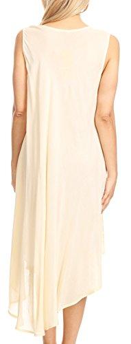 31PHZ JVj%2BL - Sakkas Valentina Summer Light Cover-up Caftan Dress con stampa tropicale