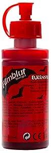 Eulenspiegel Profi-Schminkfarben GmbH Búho Espejo 405604película Sangre/Sangre Gel para Halloween, Claro, Vegano, Color Rojo