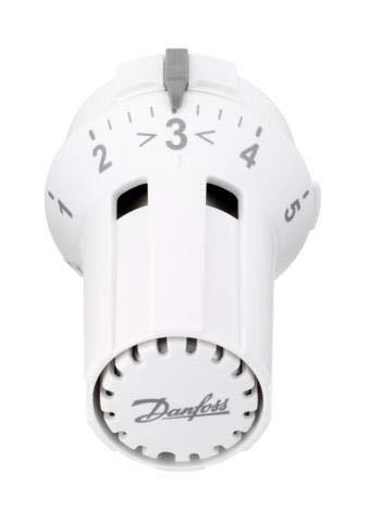 Danfoss 013G5030 RAW-K 5030 Fühlerelement, Weiß