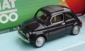Fiat 500 Modellino Auto D'Epoca Collezione Scala 1:43 Colore Rosso