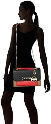 Love Moschino Borsa Vitello Pebble Grain - Shoppers y bolsos de hombro Mujer de Love Moschino