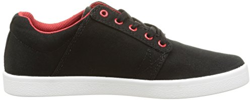 Supra Westway, Baskets Basses Mixte Adulte Noir (Black/Red/White)