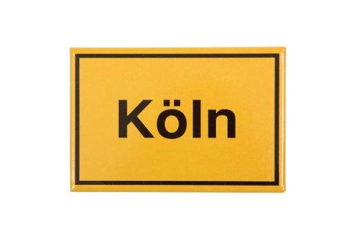 Magnet Kühlschrankmagnet Ortsschild Köln