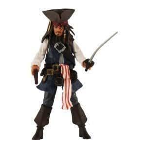 Pirates des caraibes 4 jack sparrow 10cm - Jeux de jack et les pirates ...