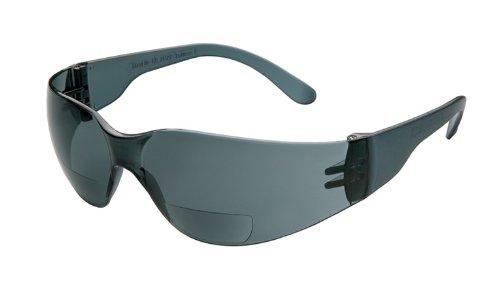 Gateway Sicherheit Starlite Mag Sicherheit Gläser, 1.0 Diopter Magnification, Gray Lens, 1