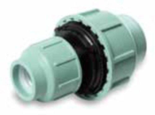 PP Réducteurs Embrayage 16 mm - 50 mm, Raccord à compression, Raccords de serrage, Vissage, 10 Bar - 40 mm x 50 mm