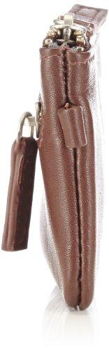 Bugatti Bags Manhattan 49111802 Unisex-Erwachsene Schlüsselmäppchen 11x6x1 cm (B x H x T) Braun (braun 02)