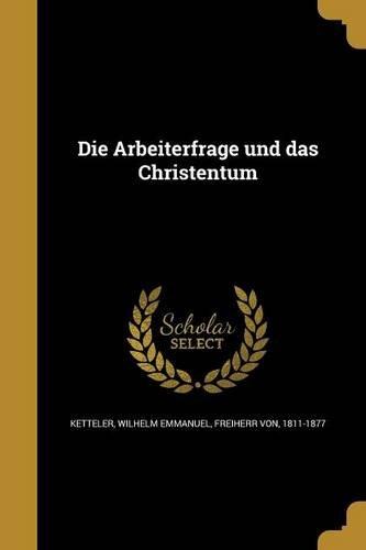 GER-ARBEITERFRAGE UND DAS CHRI