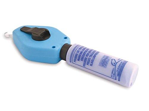 Defi DF140 Schlagschnur mit Kreidepulver, 30 m Länge, 100 g, Blau (12-er pack)