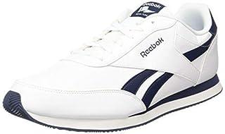Reebok Royal Cl Jog 2l, Men's Trainers, White (White / Collegiate Navy), 9 UK (B01HCQNQVO)   Amazon price tracker / tracking, Amazon price history charts, Amazon price watches, Amazon price drop alerts