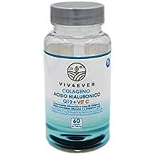 Colageno Acido Hialuronico Vitamina Q10 Vitamina C Ideal para cuidar la piel