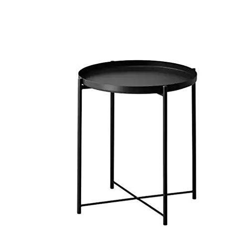 noir Table Table ronde basse basse OPw0kn
