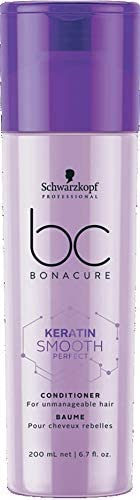 Schwarzkopf Professional Bc Keratin Smooth Perfect Conditioner, Purple, 200 ml