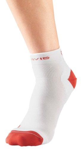 McDavid, Calzini di compressione, Bianco (Weiß), Misura: 2
