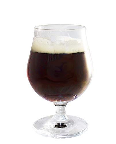 MeinTablett Biertulpe Bierglas Design Sonora Geschenkset 4 Gläser - Bier Trinkgläser