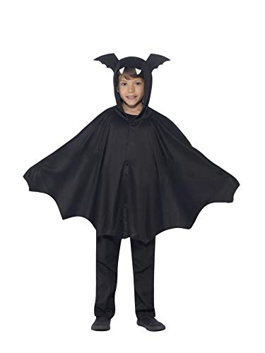 Smiffys 44324ML - Bat Cape (Ideen Kälte Halloween-kostüm)