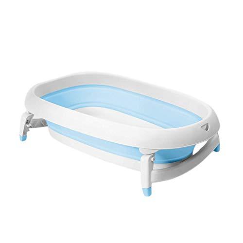 MY1MEY Bañera para bebé, Bañera Plegable portátil, Plato de Ducha Plegable para niños, Cómoda...