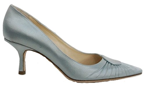 Jimmy Choo , Damen Pumps Blau Dusky Blue 36 (4 UK)