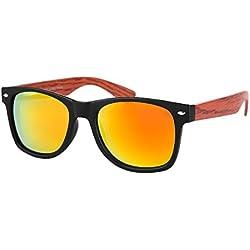 Sonnenbrille mit Holzbügel Style von Alsino V-1241-1