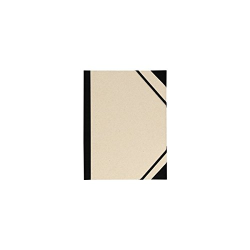 Canson Carpeta para dibujo artístico, esquinas reforzadas, bandas de goma, color gris claro, 610x810 mm