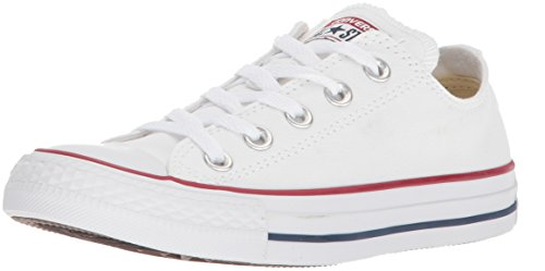CONVERSE Chuck Taylor All Star Seasonal Ox, Unisex-Erwachsene Sneakers, Weiß, 41 EU (Canvas-sneakers Weiße)
