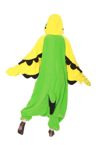 Kigurumi Pyjama Perruche 2766GN Vert