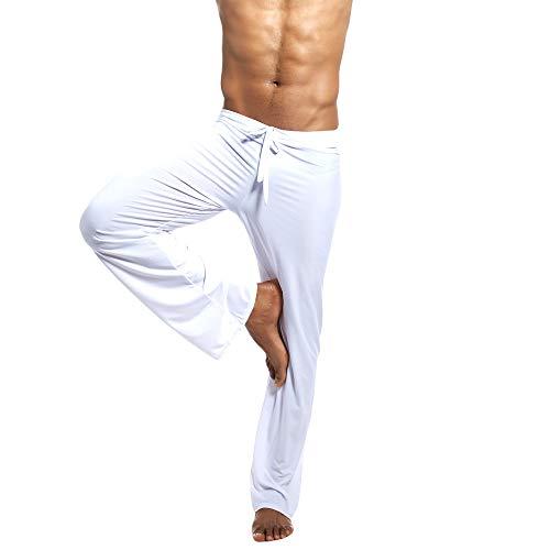 ODRD Männer Yoga Hosen Herren Pants Mode Einfarbig Hause Hosen Yoga Kleidung Hosen Laufhose Sweathose Strumpfhosen Jogging Trainingshose Sweatpants Freizeithose Outdoor Sport
