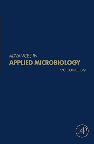 [(Advances in Applied Microbiology: Vol. 69)] [Series edited by Allen I. Laskin ] published on (October, 2009)