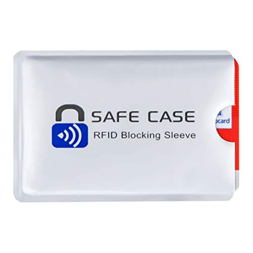 Diawell RFID NFC Schutzhülle Kartenschutzhüllen Blocker Datenschutz Abschirmung Hülle Sleeve EC Karte Kreditkarte Personalausweis Kreditkarte für Geldbeutel