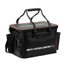 Savage Gear Boat & Bank Bag S (37,5x25x25cm) Angeltasche zum Spinnfischen, Spinntasche, Blinkertasche, Anglertasch, Tasche zum Spinnangeln, Ködertasche (Tasche Bank)