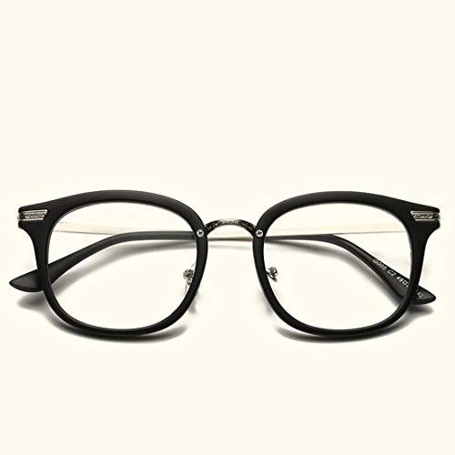 Nalkusxi Brillenfassungen Brillen für Frauen Brillen für Frauen ohne Rezept (Color : Black)