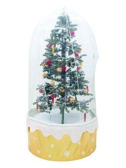 Schneiender Weihnachtsbaum m. Schutzhülle