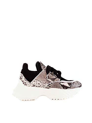 Cesare Paciotti Damen T660005pblack Schwarz Leder Sneakers
