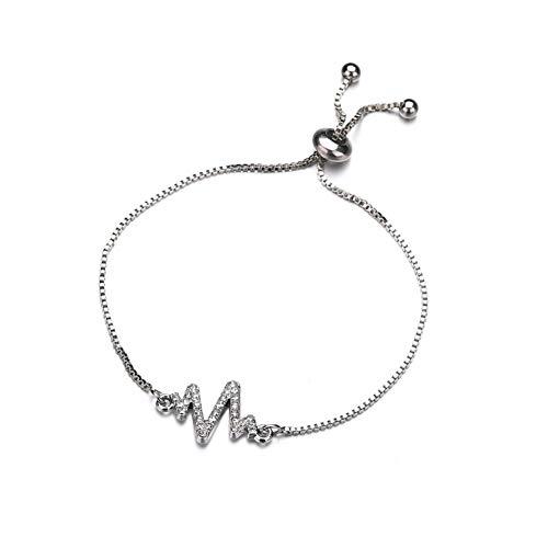 BOENTA Armband Frauen Armband Für Charms Brautjungfer Silberkette Billige Armbänder Süßes Armband