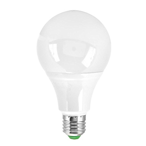 Fdit 3Pcs 10W RGBW LED Lampadina, E27 16LED Dimmable Cambiare colore Lampadine Lampada da notte con telecomando Controlfor Decorazione della casa, palcoscenico, partito(RGB+Warm White)