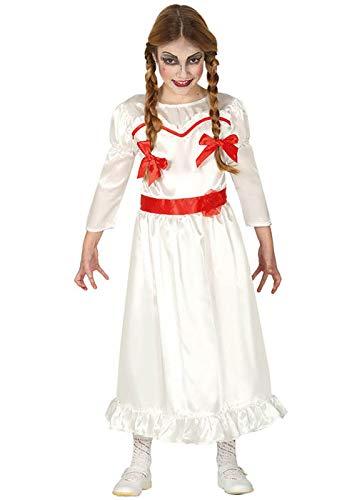 Annabelle Kinder Kostüm - Magic Box Int. Gruseliges Puppenkostüm im Annabelle-Stil für Kinder Large (10-12 Years)
