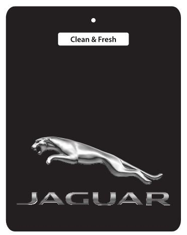 JAGUAR Car Air Freshener BLACK SERIES - 2 for £6 DEAL! - Daimler, E-Type, S-Type, XJ, XJ12, XJ40, XJ6, XJ8, XJR, XJS, XK, XK8, XKR, ALL JAGUAR