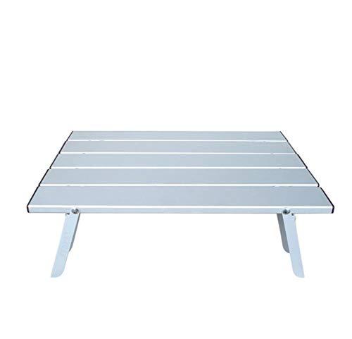 Chaise pliante Table De Salle À Manger en Alliage D'aluminium, Table De Pliage Portative, Camping Extérieur, Randonnée, Barbecue, Pique-Nique