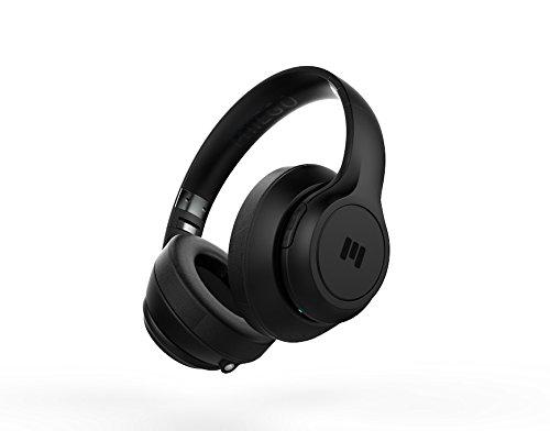 MIIEGO BOOM - Premium Wireless On-Ear Kopfhörer - Schwarz/Schwarz - Boom Wireless Headset