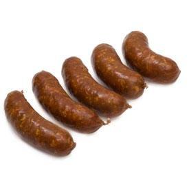 Carré de bœuf - Charcuterie - Saucisse - Mini-saucisse fumée - 5 x 60 g - Livraison en colis réfrigéré 48h