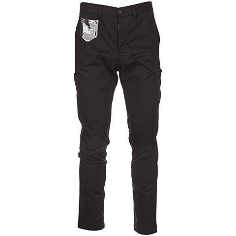 Love Moschino pantaloni uomo nero