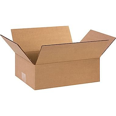 REALPACK® 100 x Boxes Single Wall Size : 12''x9''x4'' - Ideal for Moving House or Just Storing Items Away Free Fast Shipping *Next Day UK Delivery Service*