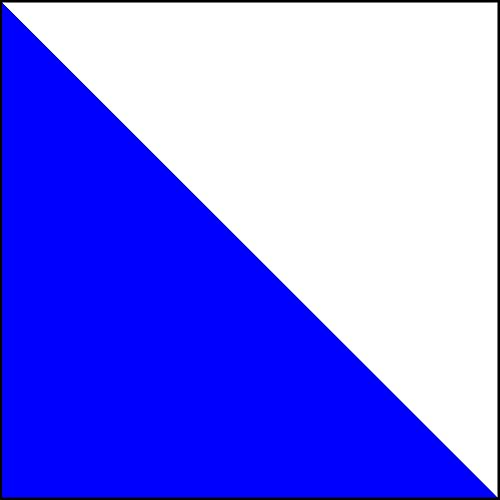 magFlags Flagge: Large Zürich-Drapeau   Zürich   Fahne 1.35m²   120x120cm » Fahne 100% Made in Germany
