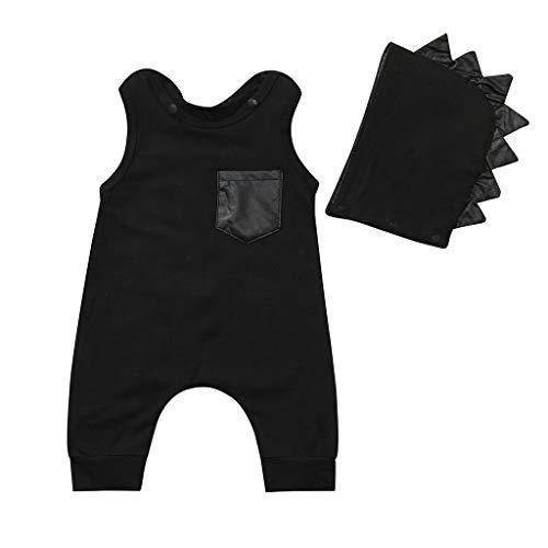 Sanahy Kinder Langarm Kostüm Top Set Baby Kleidung Set Kleinkind Jungen Mädchen Cosplay Kostüm Baby Karneval Strampler Hut Outfits Set Strampler Overall