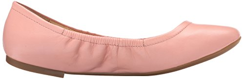 Nine West Girlsnite Leather Ballet Flat Pink Leather