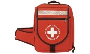 LEINA-WERKE REF 23013 Erste-Hilfe-Notfallrucksack, 36-teilig, rot
