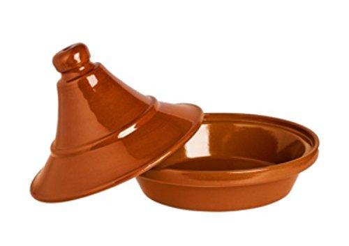 Alar Tajine Schmortopf 2427 - Original Tajine aus Keramik, Topf 2,4 Liter Ø 27 cm, Höhe 20,5 cm